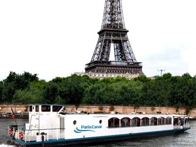 visite tour eiffel en bateau
