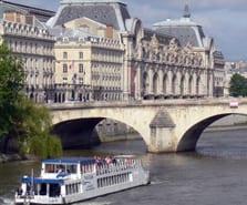 Croisière découverte de Paris