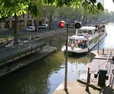 Déjeuner guinguette sur le Canal Saint Martin