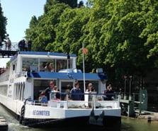Croisière du Canal Saint-Martin à la Seine