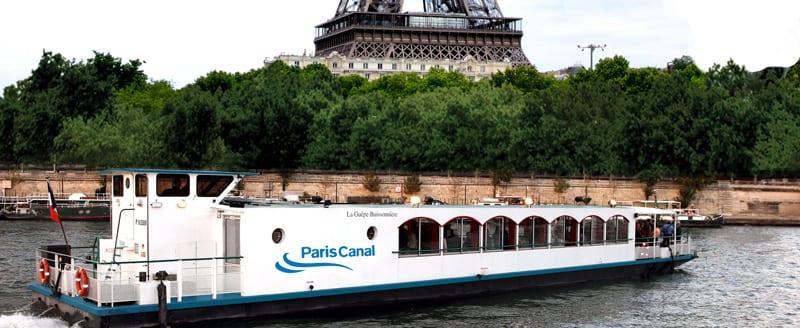 Bateau Guepe Buissonière Paris Canal