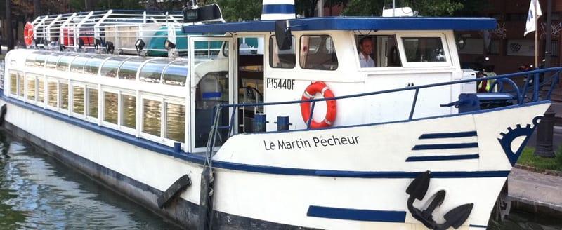 Bateau le Martin Pêcheur