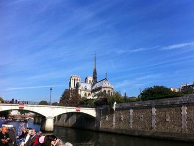 croisiere sur la seine a Paris