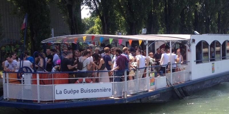 peniche & guinguette sur Marne