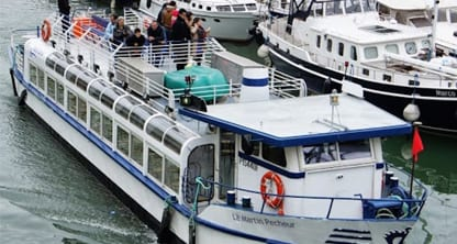 bateau seine canal