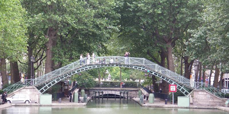 Canal Saint Martin Journee