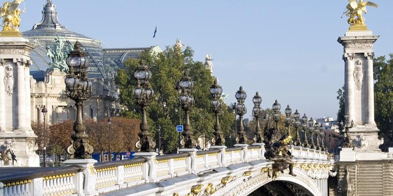 visite grand palais & pont alexandre III