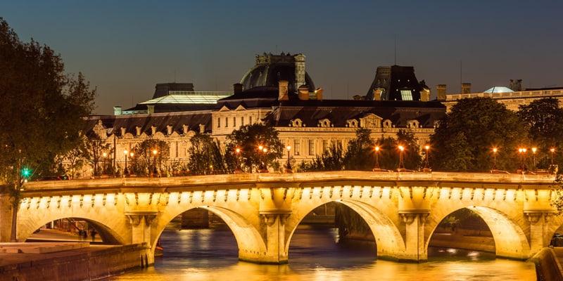 soirée croisiere sous pont neuf