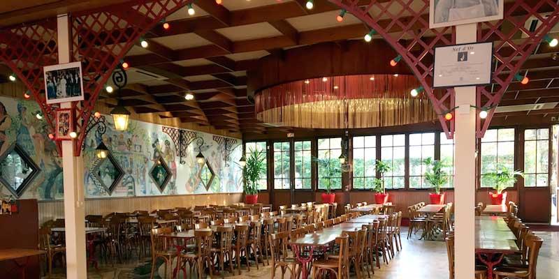 restaurant guinguette groupes