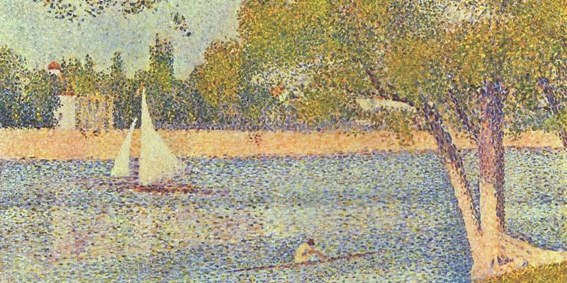 ile des impressionistes peinture