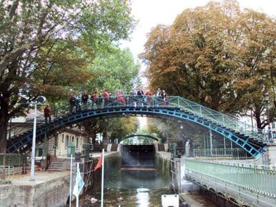 promenade canal saint martin