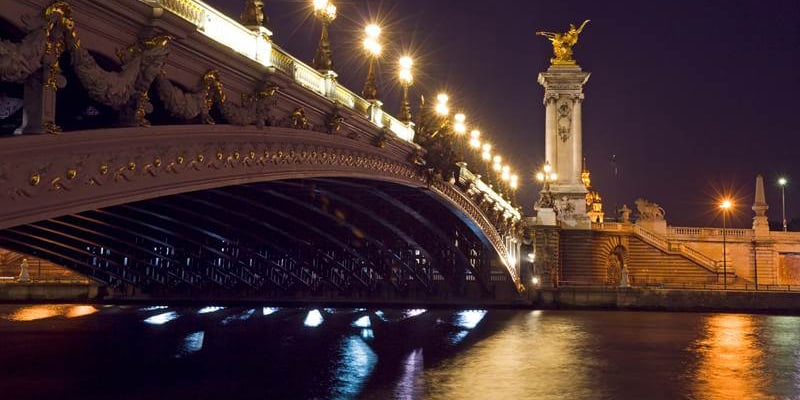 paris & seine by night