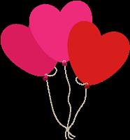 Saint Valentine's hearts