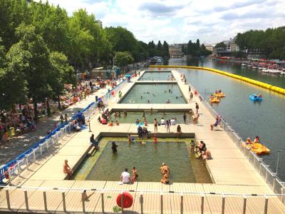 Bassin de la Villette Paris Plage