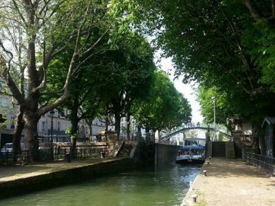 Bateau le Canotier sur le Canal