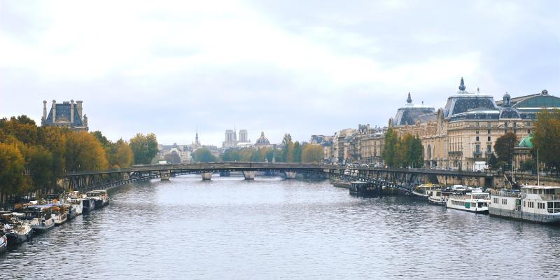 Canotier Paris Canal Musée Orsay