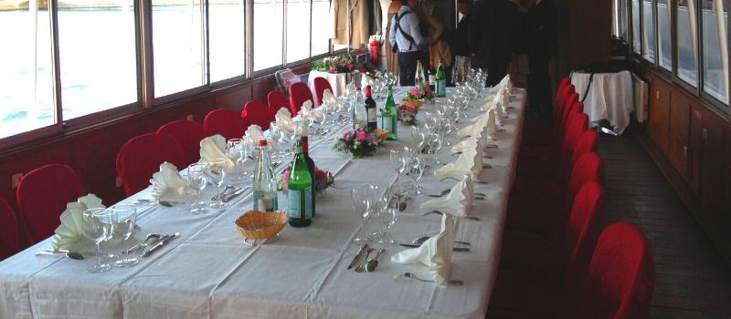 Canotier grande table
