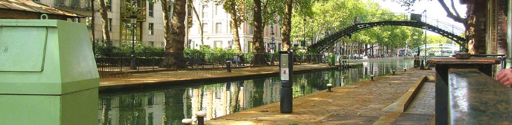 Croisières sur le Canal Saint-Martin et la Seine