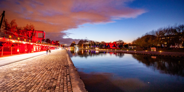 Parc de la Villette Canal de l'Ourcq