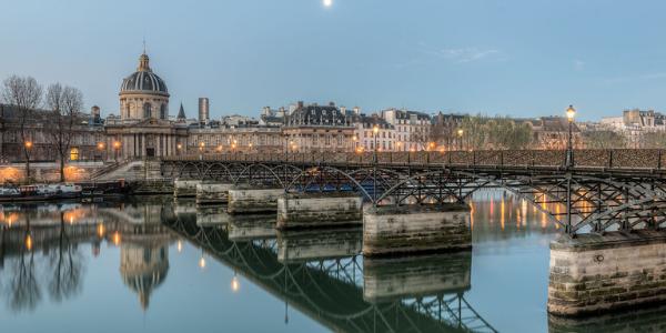 Passerelle des arts Croisière Paris Canal