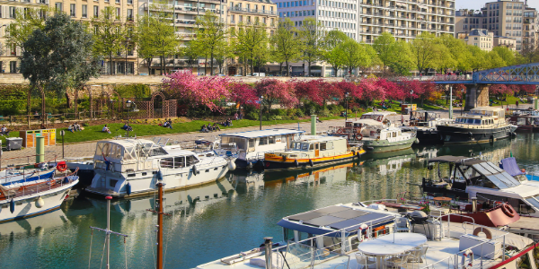 Port de l'Arsenal Canal St Martin
