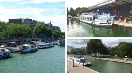 Ports d'attache Paris Canal