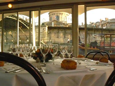 Croisière déjeuner Seine