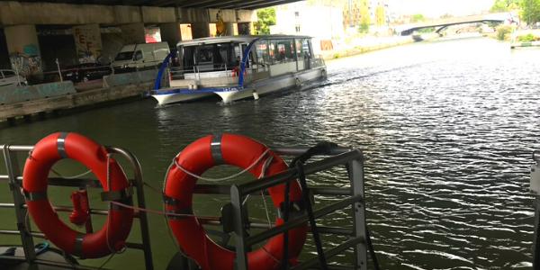 bateau électrique écluse de flandre
