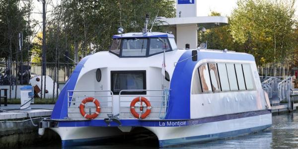 bateau électrique canal de l'Ourcq