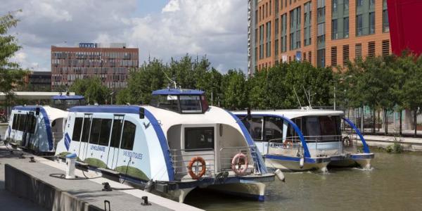 bateau électrique canal saint-denis