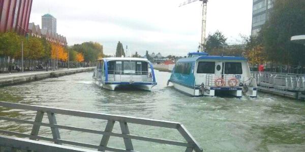 bateau électrique canaux paris