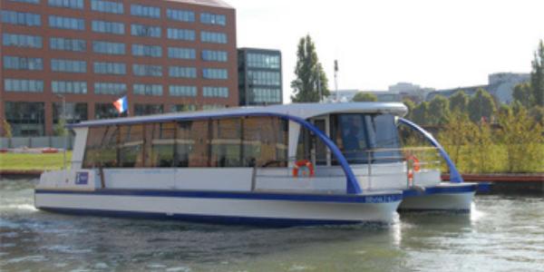 bateau électrique canaux parisiens